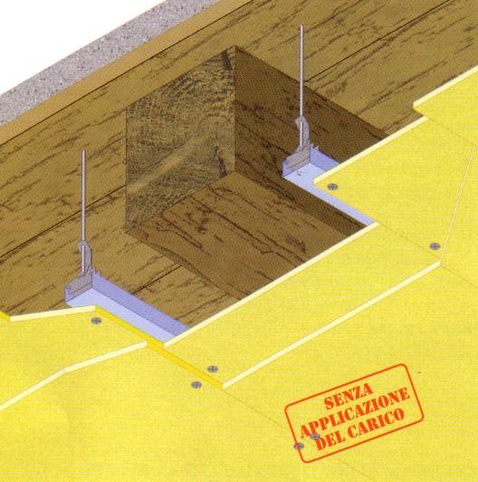 Solaio legno aderenza